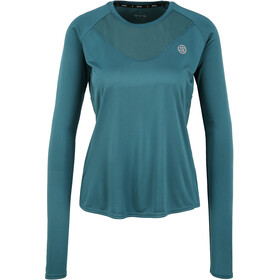 Skins Series-3 LS Top Women, teal